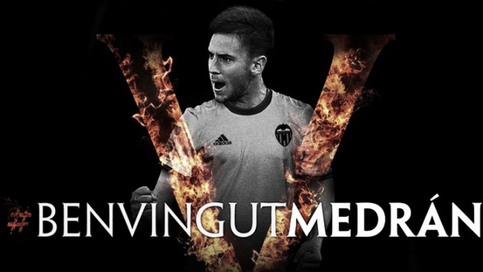 Valencia acerta compra do jovem volanteÁlvaro Medrán junto ao Real Madrid