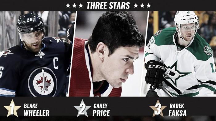 Wheeler lidera las tres estrellas de la semana