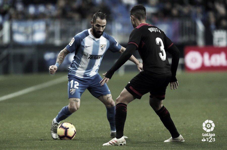 Dura derrota del Málaga ante el Reus Deportiu