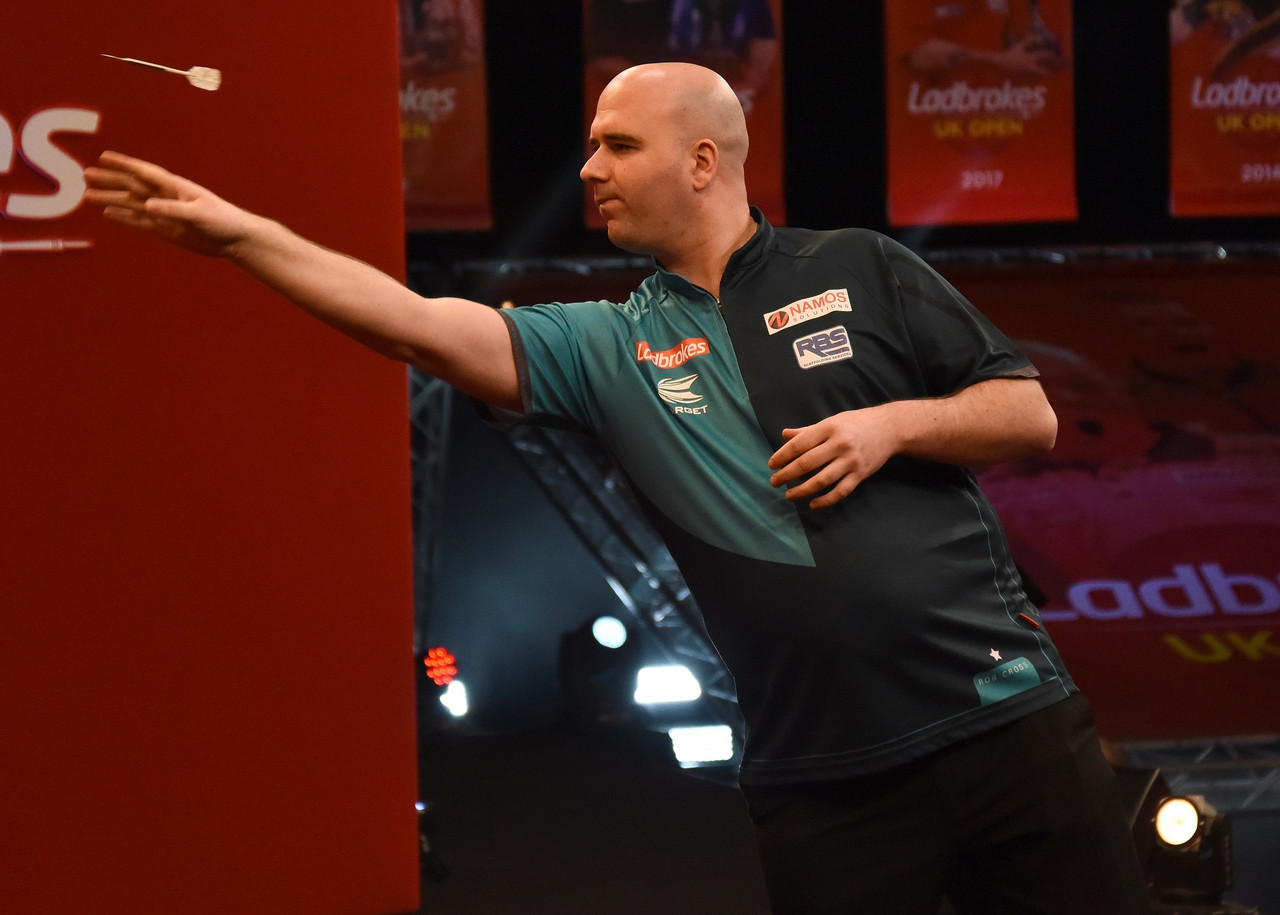 Darts: Six defeats, six winners, the curious case of Rob Cross's record at the UK Open