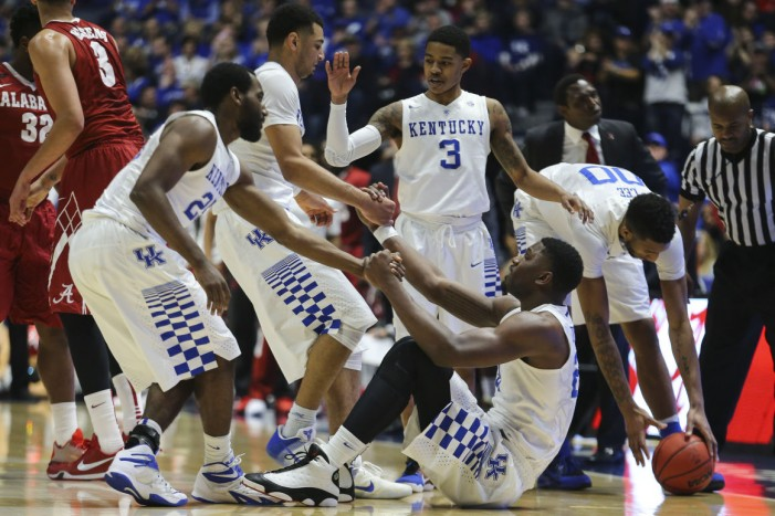 SEC Tournament: Kentucky Wildcats Advance With Dominant Win Over Alabama Crimson Tide