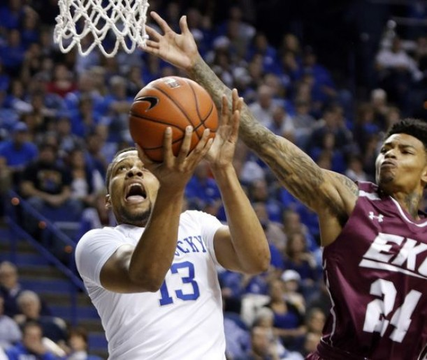 #5 Kentucky Wildcats Back On Track With Blowout Of Eastern Kentucky Colonels