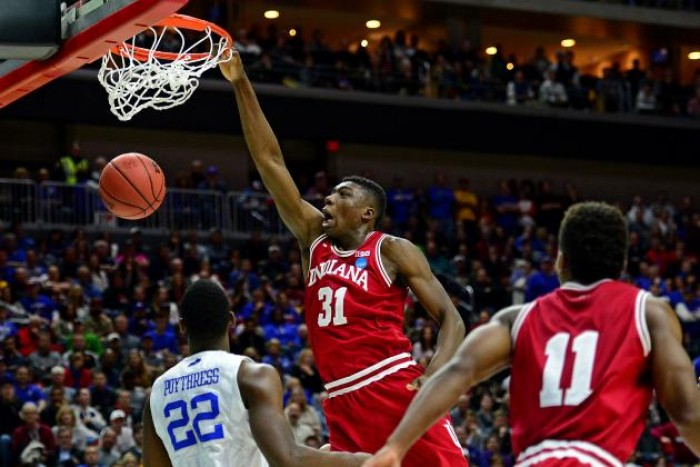 NCAA Tournament Round Of 32: No. 5 Indiana Beats No. 4 Kentucky In Gritty Win