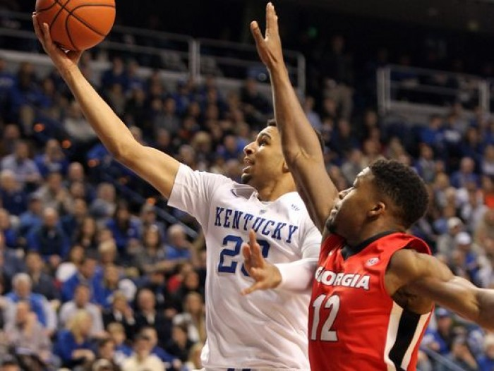 #22 Kentucky Wildcats Smother Georgia Bulldogs In Blowout