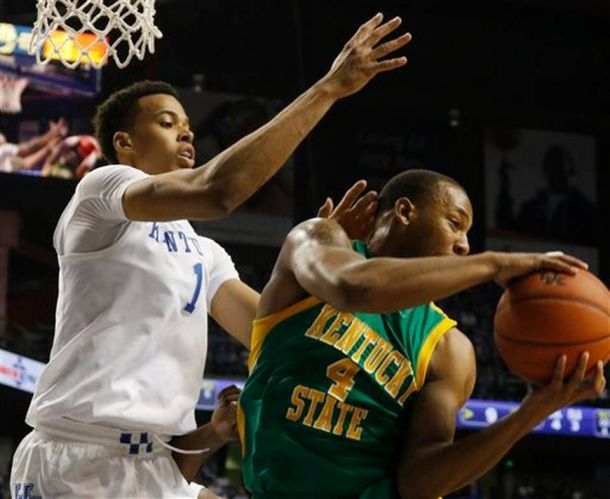 Skal Labissiere Shines In Kentucky's Final Exhibition