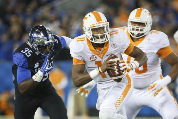 Tennessee Thrashes Kentucky In Border-Brawl Rivalry