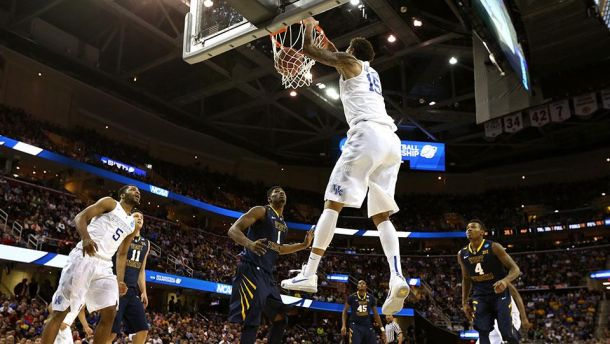 Kentucky Blows Out West Virginia To Reach Second Consecutive Elite Eight