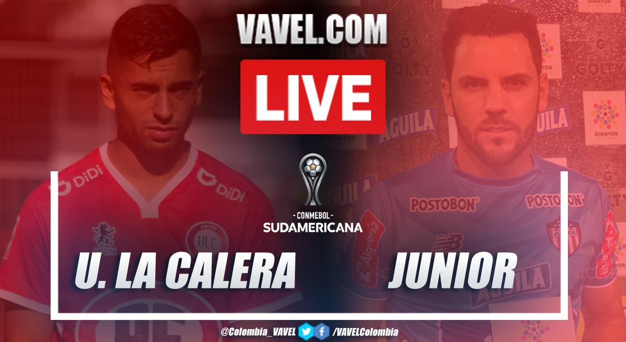 Resumen: Unión La Calera 3(2)-3(4) Junior en Copa Sudamericana