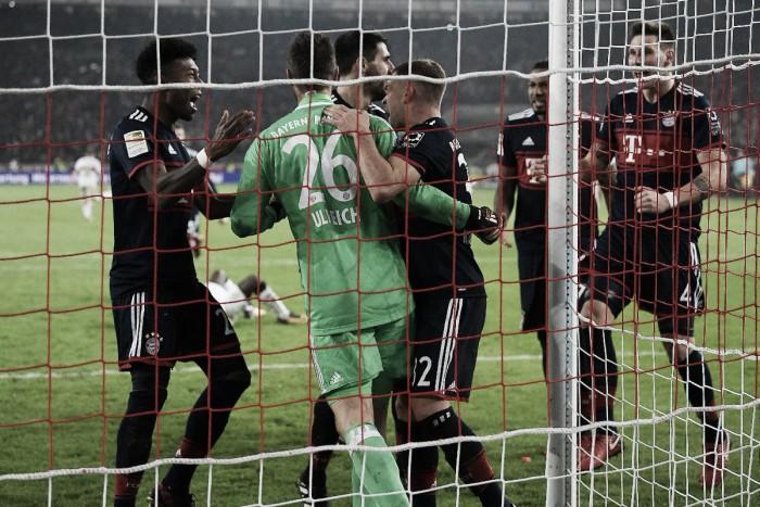 Ulreich salvó los tres puntos para el Bayern