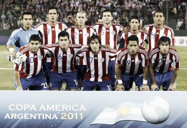La selección paraguaya y su último subcampeonato