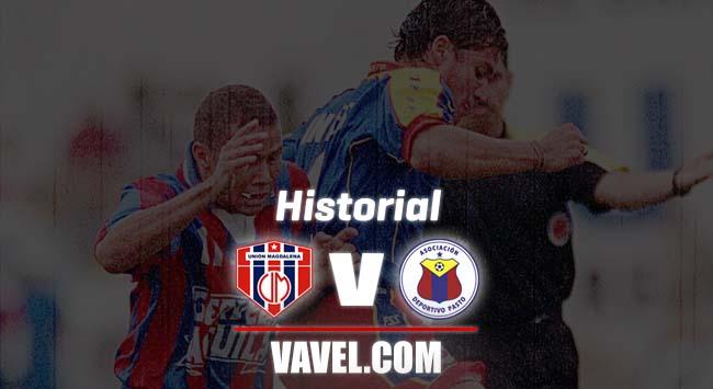 Historial entre Unión Magdalena y Deportivo Pasto