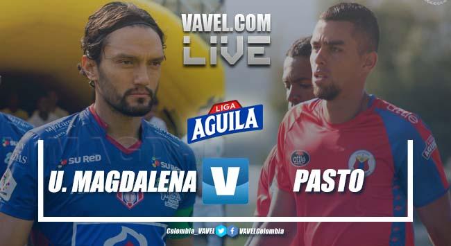 Resumen Unión Magdalena vs Deportivo Pasto por la Liga Aguila 2019-1 (1-3)