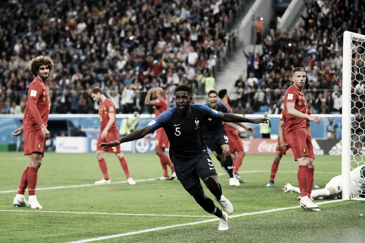 Francia gana sin fútbol y estará en la final