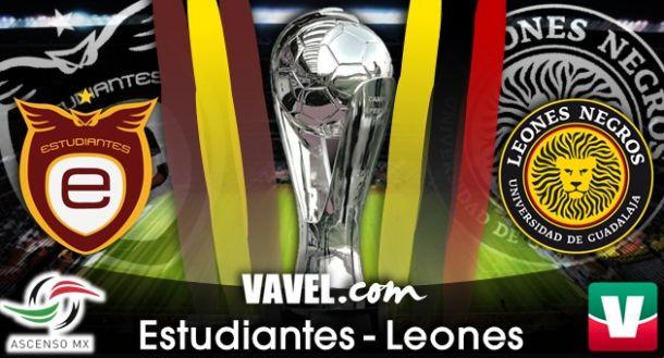 Resultado Estudiantes Tecos - Leones Negros en Final Ascenso MX 2014 (0-0)