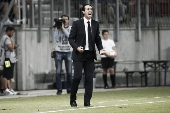 Campeão da SuperCopa da França, Unai Emery celebra primeiro título e projeta temporada do PSG