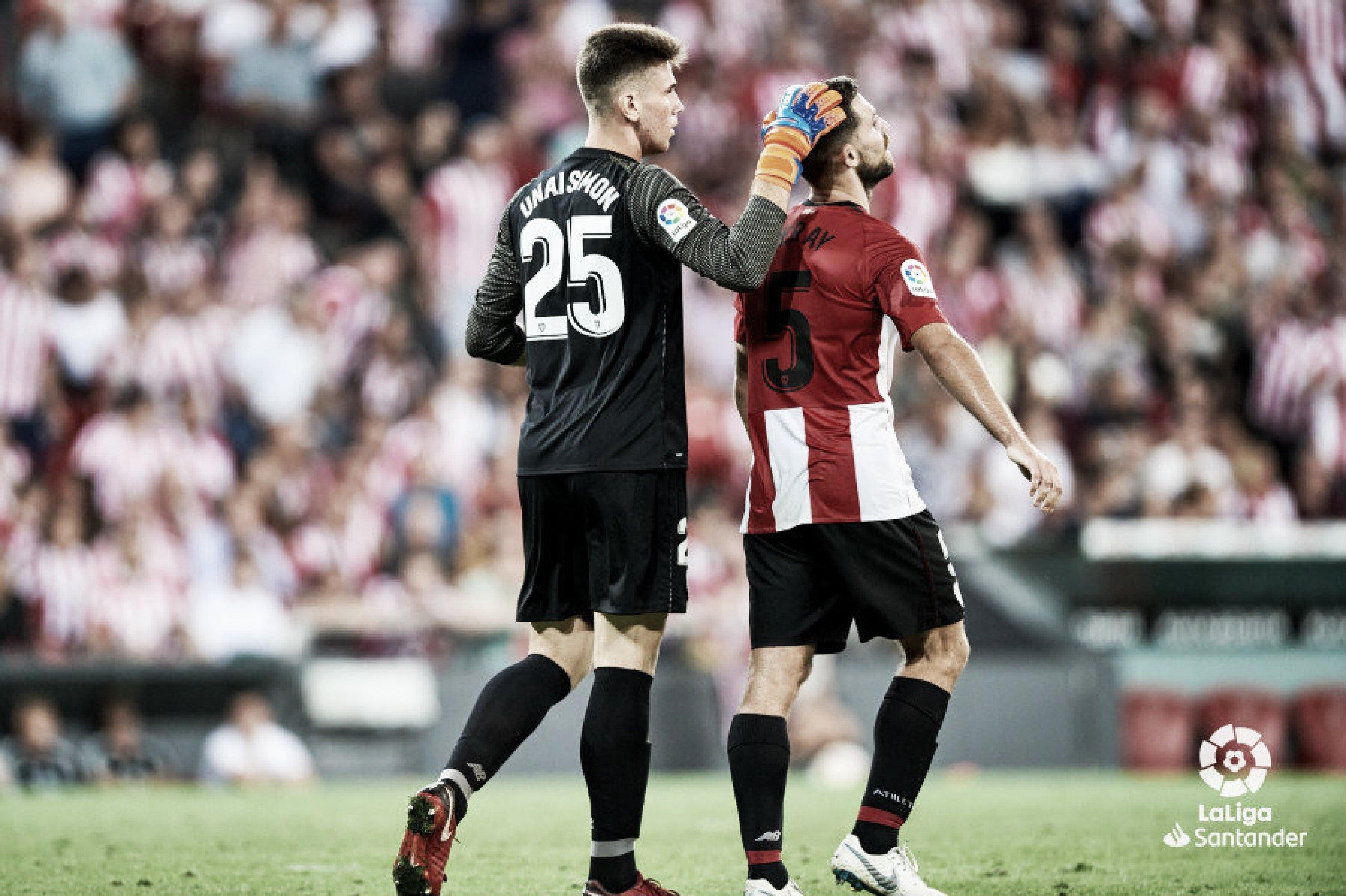 La 'BBA' se topa con Unai Simón y el Real Madrid se hunde atrás