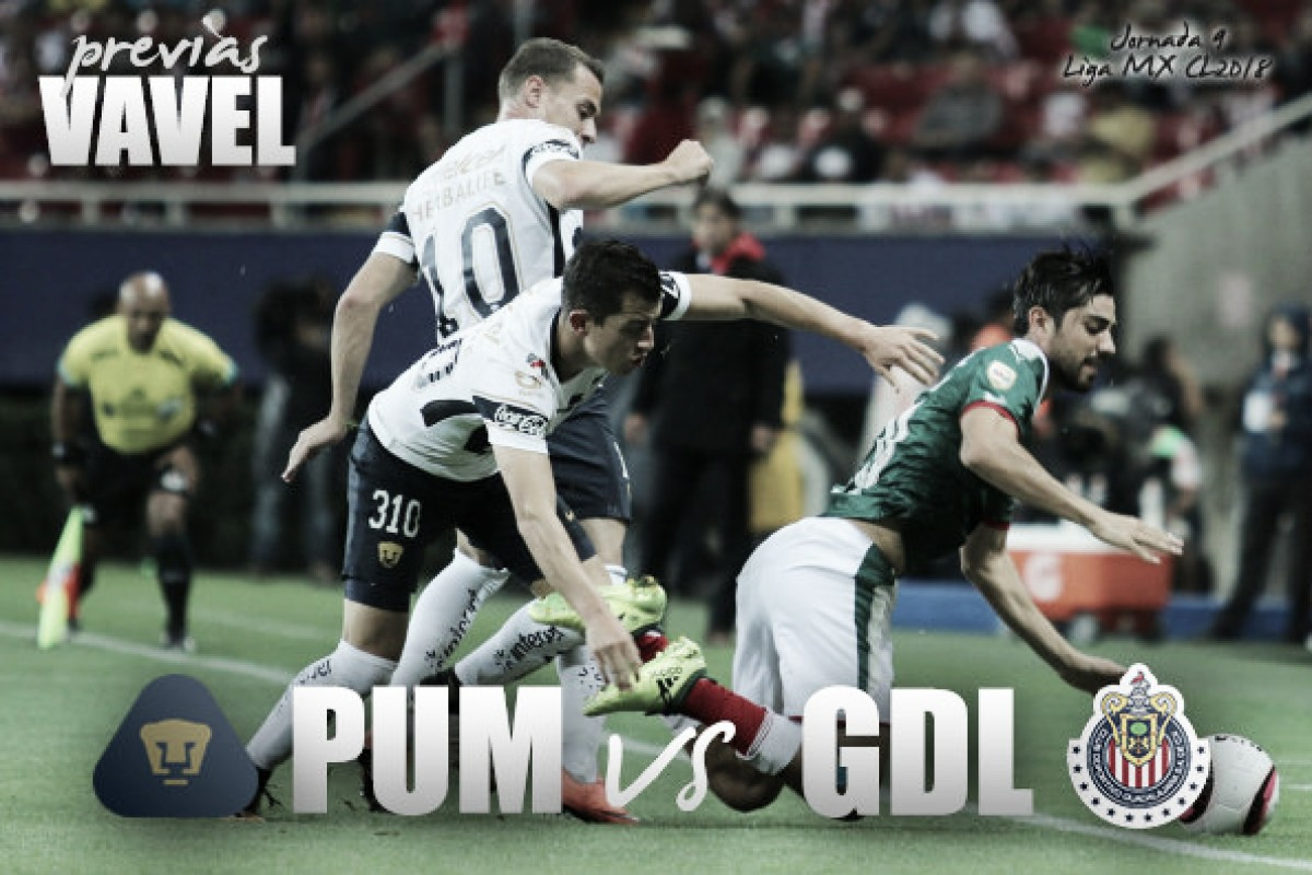 Previa Pumas - Chivas: duelo por el orgullo