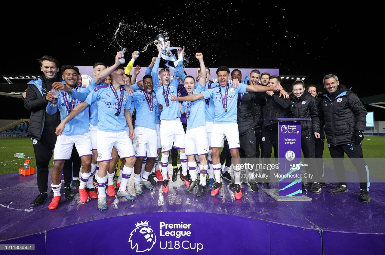 Manchester City Academy award winners announced