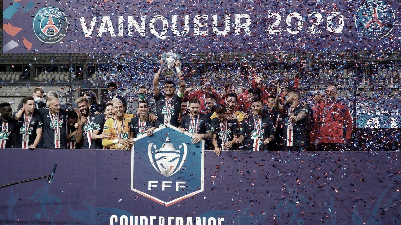 Com gol de Neymar, PSG conquista Copa da França em cima do Saint-Étienne