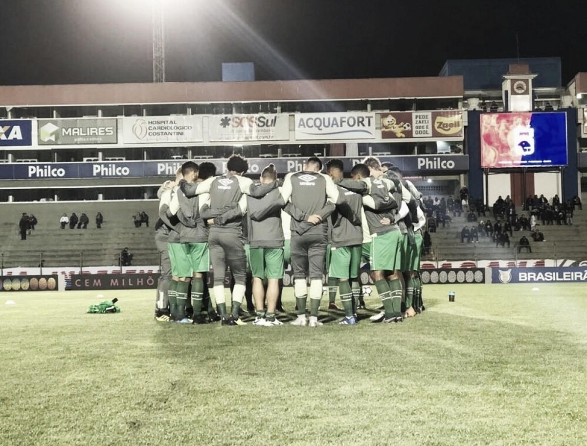 Chapecoense aposta em união para vencer crise e permanecer na elite do Campeonato Brasileiro