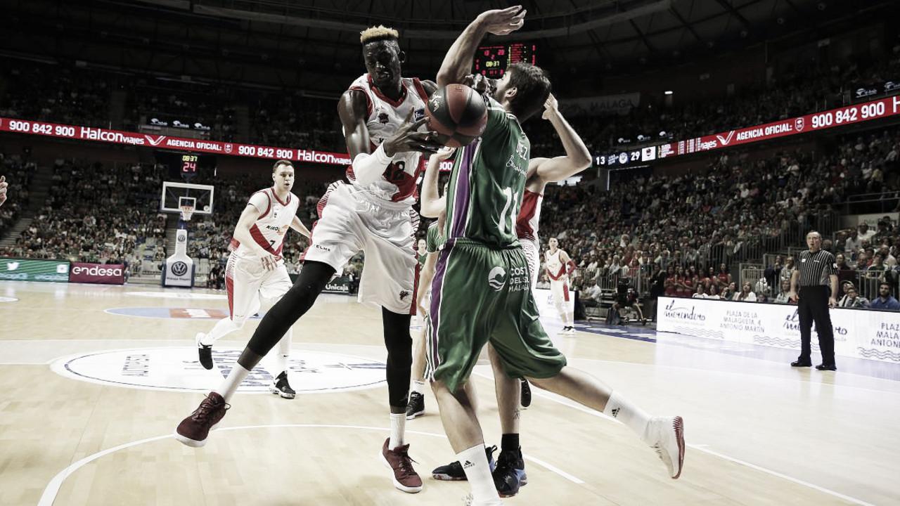 Previa Unicaja - Baskonia: los puestos altos de la liga en juego