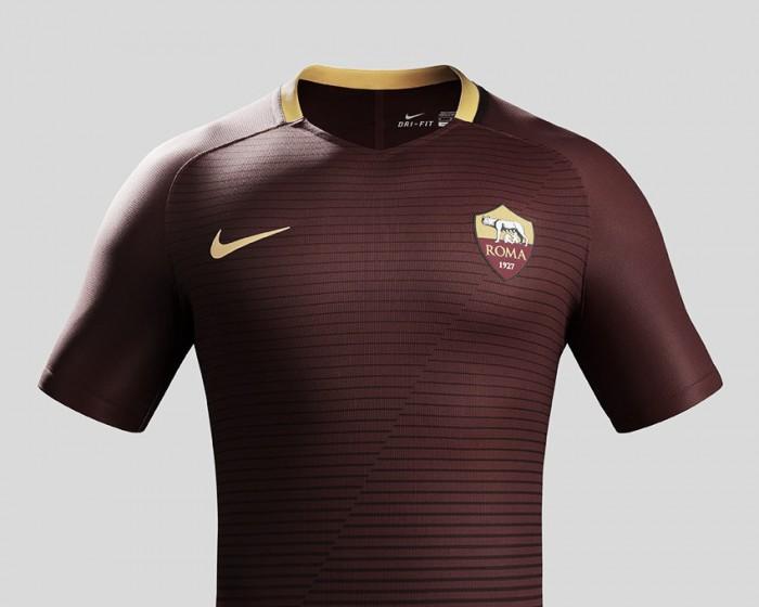Roma revela novo uniforme principal para a temporada 2016/17