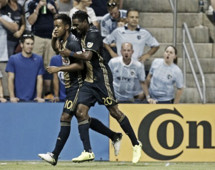 Philadelphia Union come back to force draw with Sporting Kansas City