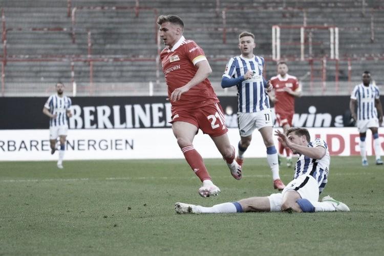 Em ótimo primeiro tempo, Union e Hertha empatam no Dérbi Berlinense