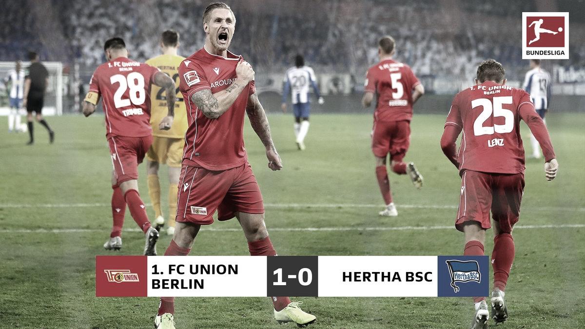 El primer Derby de Berlin fue para el Union