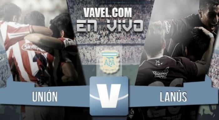 Unión 0-4 Lanús: importante triunfo para intimidar al Taladro