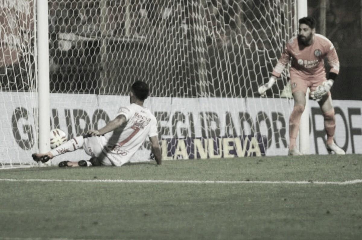 Unión fue mejor pero Navarro evitó la victoria Tatengue