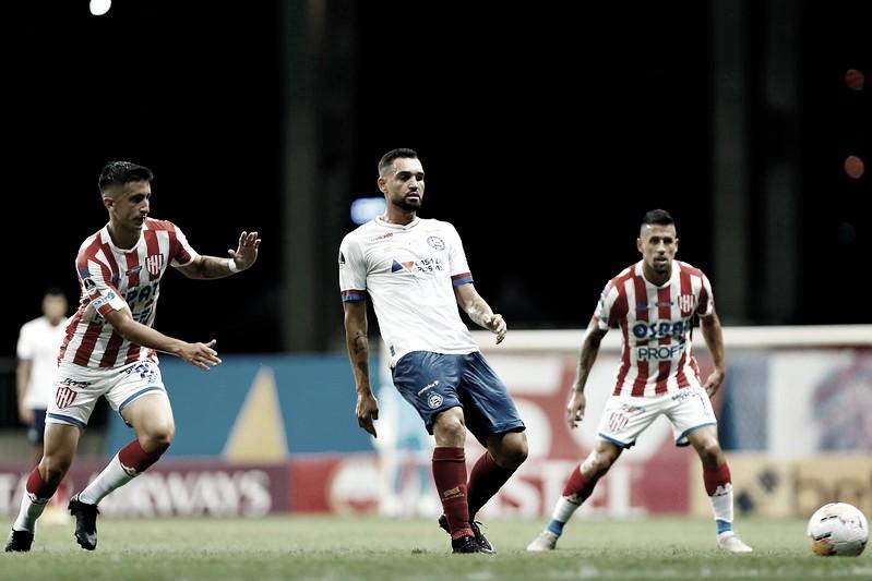 Melhores momentos de Unión Santa Fe 0 x 0 Bahia pela Copa Sul-Americana 2020