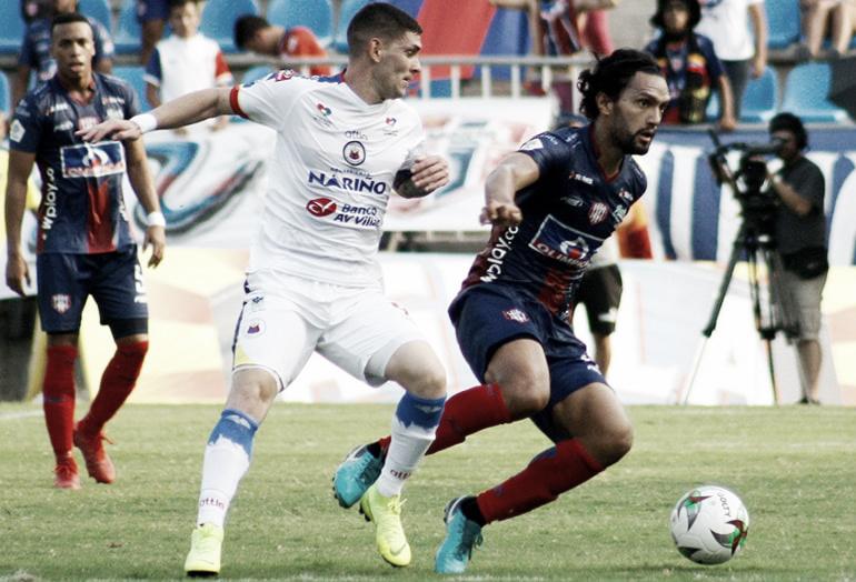 El Unión Magdalena sopló fuerte apagando al Deportivo Pasto y salió de los puestos de descenso