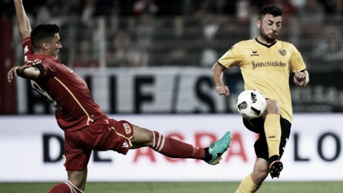 1. FC Union Berlin 2-2 Dynamo Dresden: Entertaining derby ends in a draw in Berlin