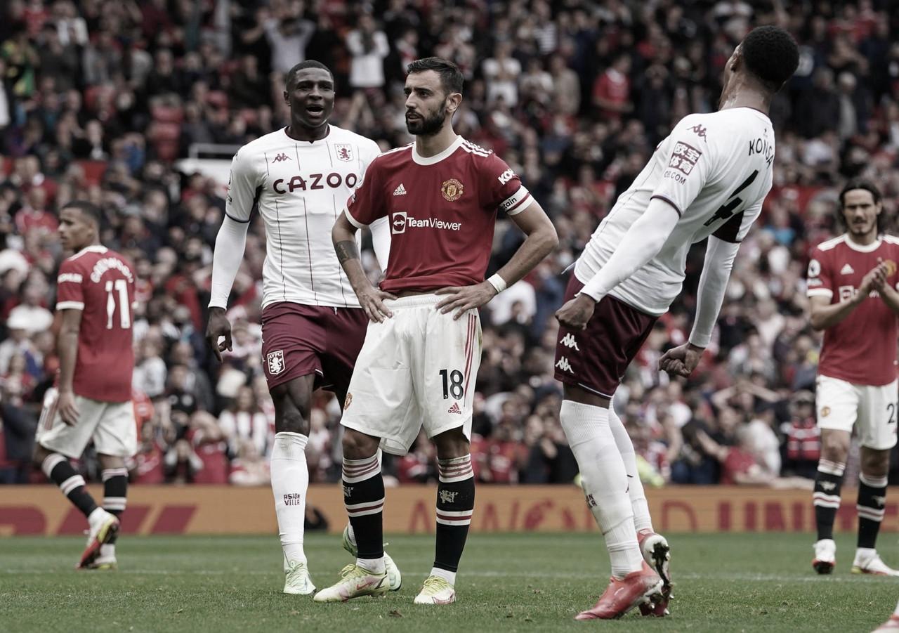 El líder no pudo con el Aston Villa