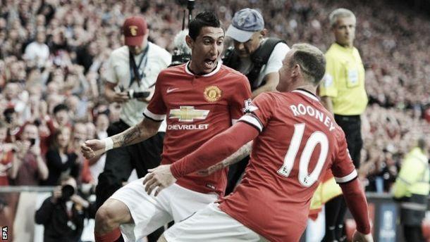 Les buts de Manchester United - Liverpool