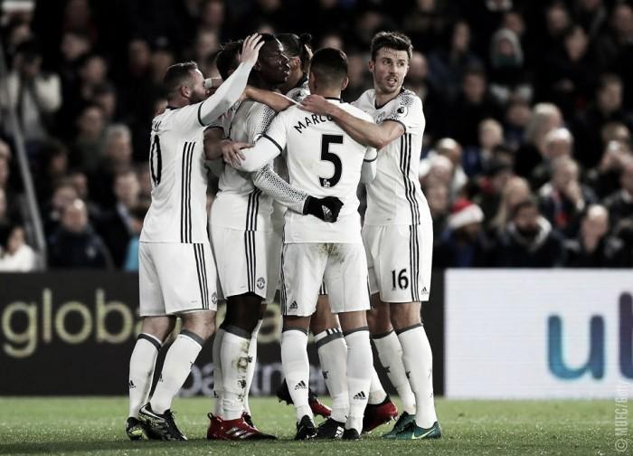 Premier League - Ibra regala una vittoria al fotofinish allo United contro il Crystal Palace (1-2)