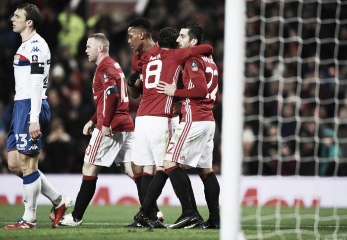 FA Cup, tutto facile per il Manchester United: Wigan piegato 4-0 a Old Trafford