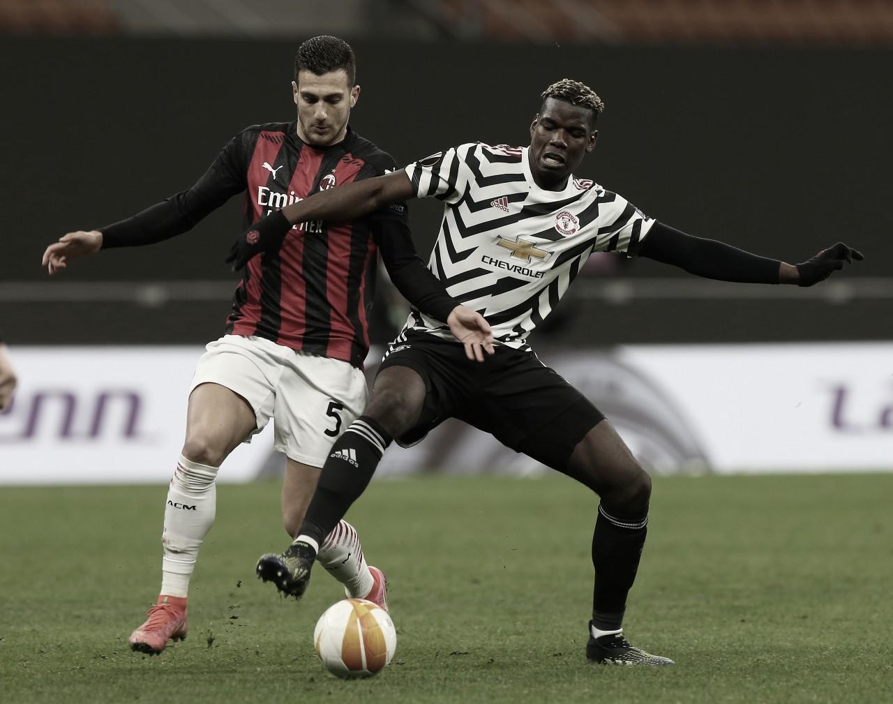Com gol de Pogba, Man United bate Milan fora de casa e avança na Europa League