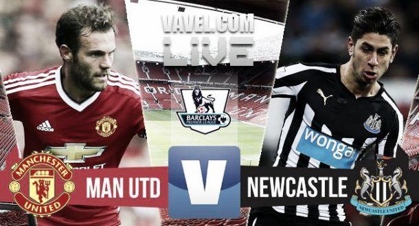 Risultato Live Manchester United - Newcastle, Premier League 2015 (0-0)