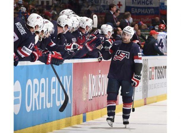 United States Defeats Russia, Remains Unbeaten At Men's Hockey World Championship