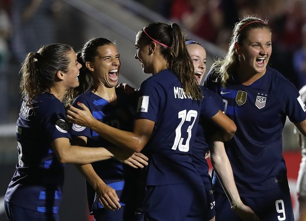 USWNT set to play 10 matches before the World Cup in 2019