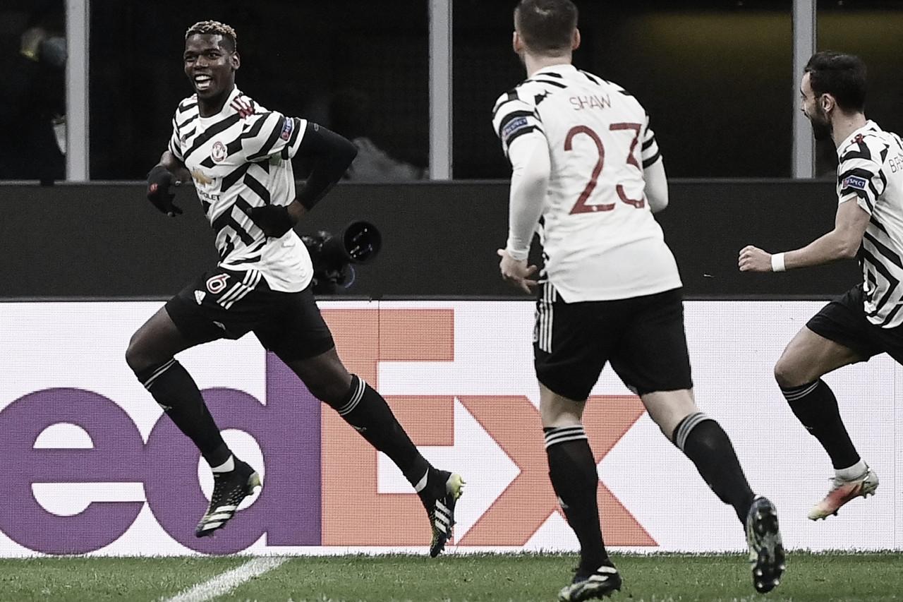 Un gol de Pogba da el pase al United a los cuartos de Europa League