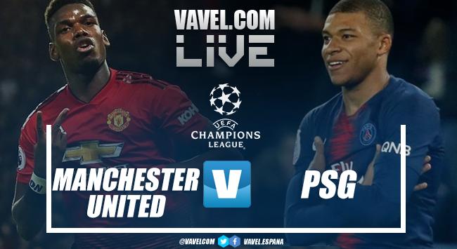 Resumen del Manchester United 0-2 PSG por la ida de los 8vos de final de la UEFA Champions League