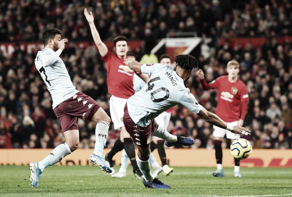 United vacila em casa, empata com Aston Villa e se afasta dos líderes da Premier League