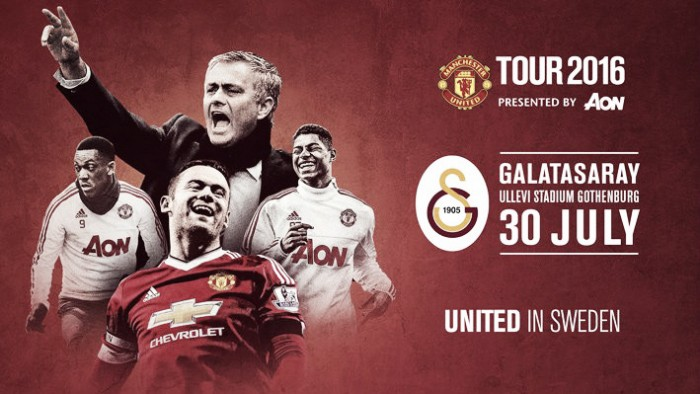Manchester United to face Galatasaray in Sweden during pre-season