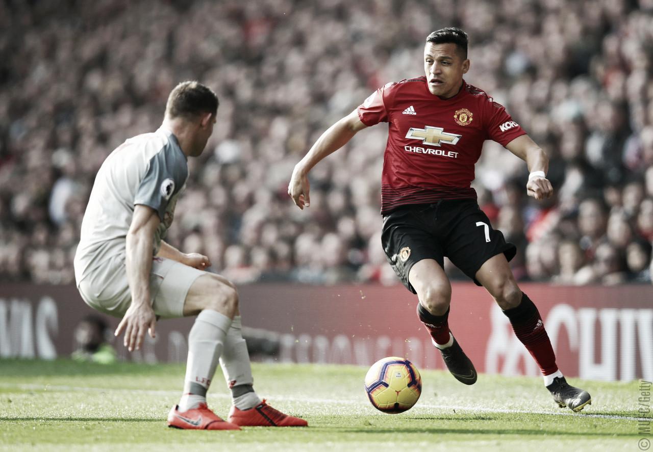 Em jogo marcado por lesões, Manchester United e Liverpool ficam no empate sem gols