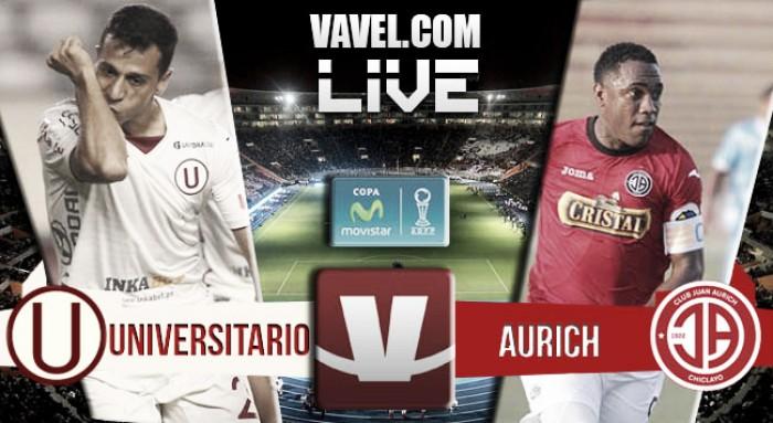 Resultado Universitario - Juan Aurich en en Torneo Apertura (2-2)