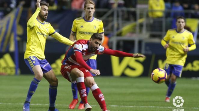 Resumen del Cádiz 1-1 Granada CF en LaLiga Santander 2020/21