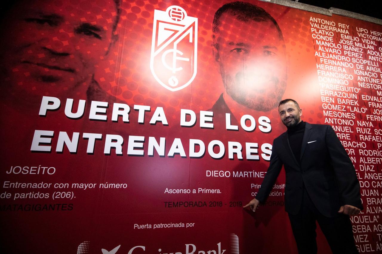 Diego Martínez ya tiene su hueco en la 'Puerta de los Entrenadores'